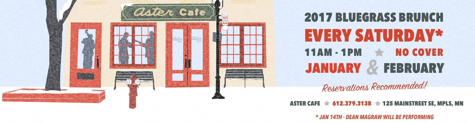 The High 48s Bluegrass Brunch 2017 @ The Aster Cafe