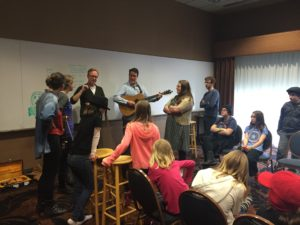 The High 48s Teaching Bluegrass at Grass Seeds Music Academy