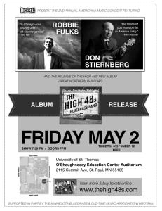 "The High 48s ""Great Northern Railroad"" Album Release Concert w/ Robbie Fulks & Don Stiernberg"