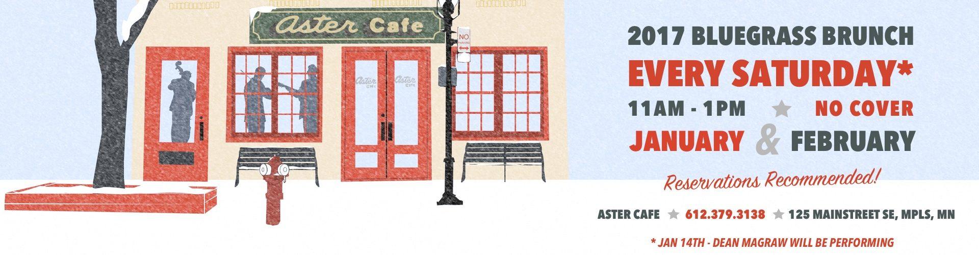 The High 48s Bluegrass Brunch 2017 @ The Aster Cafe